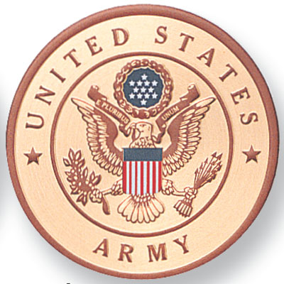 Military Emblems for Awards Plaques - General Woodworking